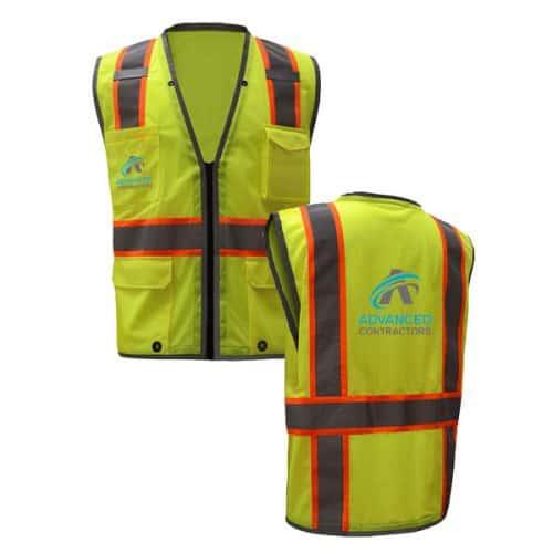 Custom Print Class Two Vest