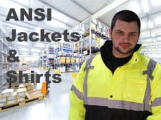ANSI Class 2 Shirts and Sweatshirts