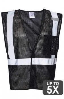 ML Kishigo Black Non-ANSI Vest