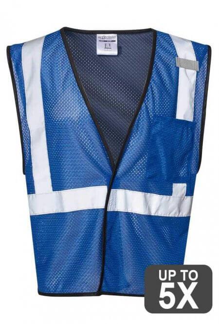 Kishigo Blue Safety Vests