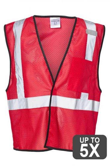Kishigo Red Safety Vests