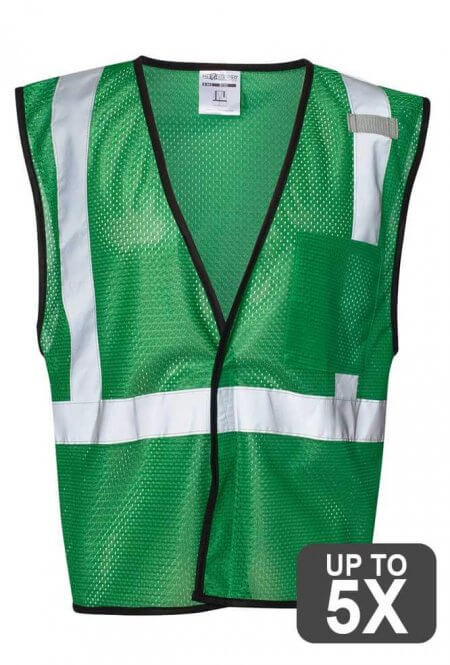 Green Safety Vests