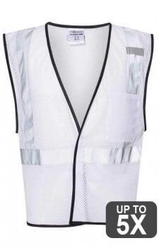ML Kishigo White Non-ANSI Vest