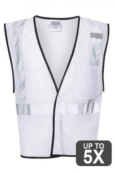 Kishigo White Safety Vests