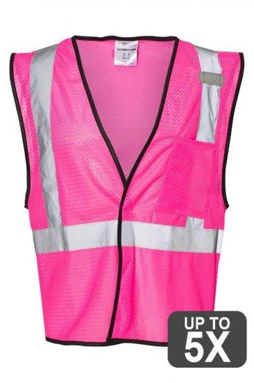 Kishigo Pink Safety Vests