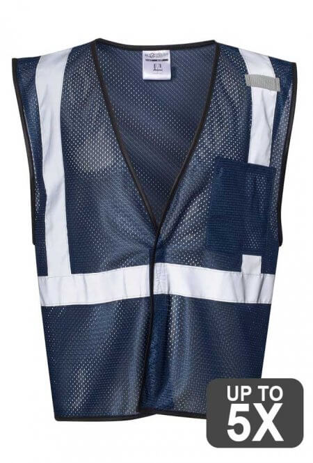 Kishigo Navy Safety Vest