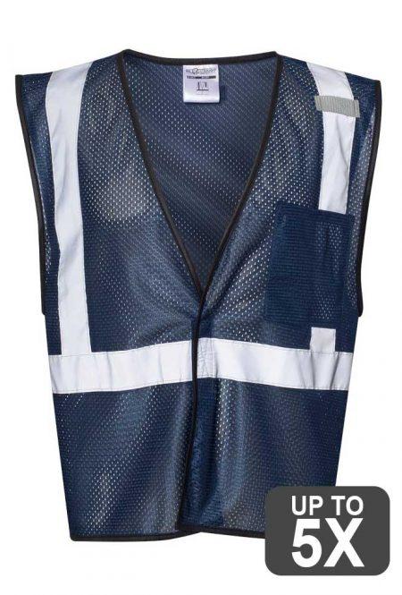 Kishigo Navy Safety Vest