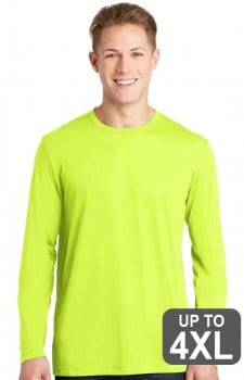 Badger UPF 50 Performance Long Sleeve Safety Shirts