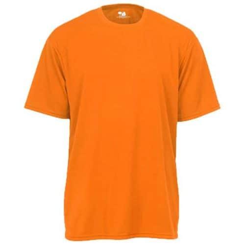 Badger Safety Orange Dry Fit Shirt