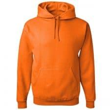 Brighshield Safety Orange Hooded Sweatshirt
