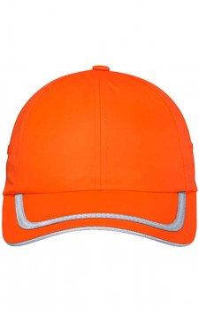 Enhanced Visibility Cap In Safety Orange