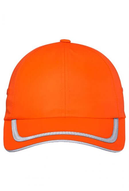 Enhanced Visibility Cap in Safety Orange