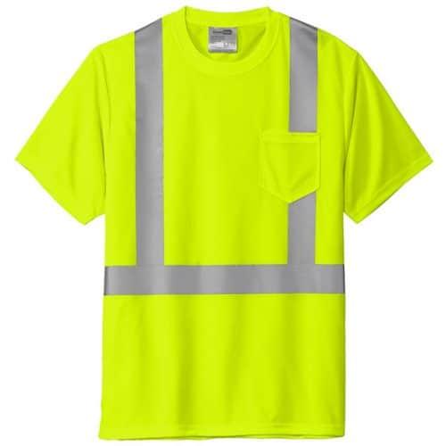 Safety Green Class 2 Reflective Shirt