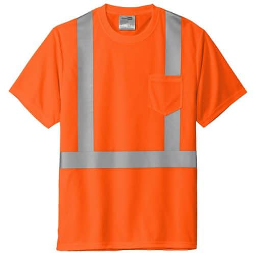 Safety Orange Class 2 Shirt
