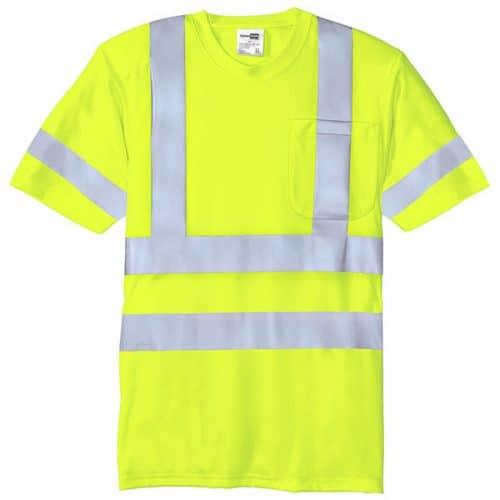 Class 3 Short Sleeve Reflective Shirt