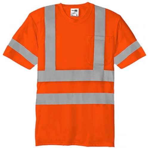 Class 3 Reflective Orange Shirt