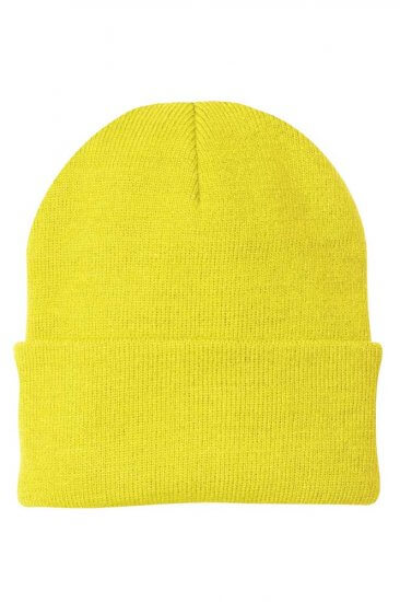 Safety Green Knit Cap