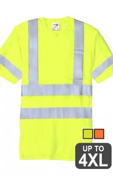 Port & Company ANSI Class 3 Reflective T-Shirt