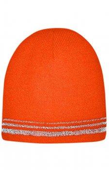 Lined Enhanced Visibility Safety Orange Beanie