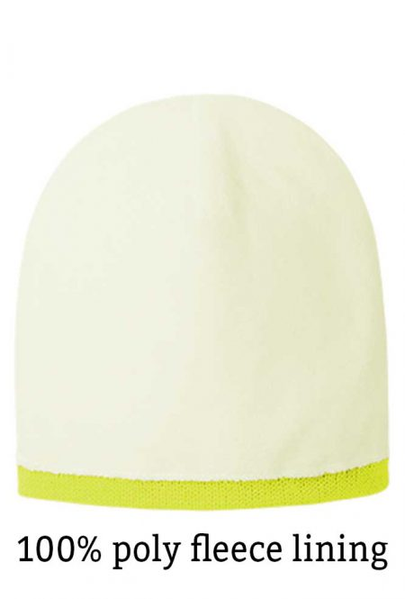 Lined safety stocking cap