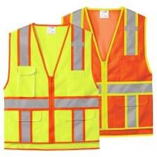 Cornerstone Class 2 Surveyor Zippered Safety Vest