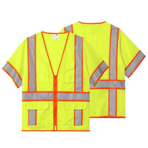 Cornerstone Class 3 Surveyor Mesh Hi Vis Vest