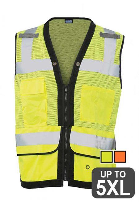 Surveyor Vest with Tablet Pocket