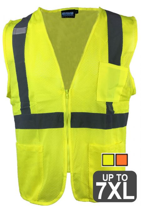 Class 2 Safety Vest with Pockets
