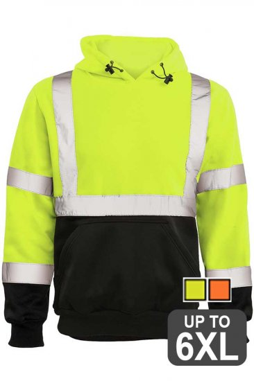 Reflective Safety Hoodie
