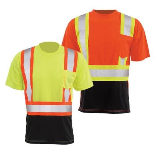Class 2 Reflective Safety Shirts