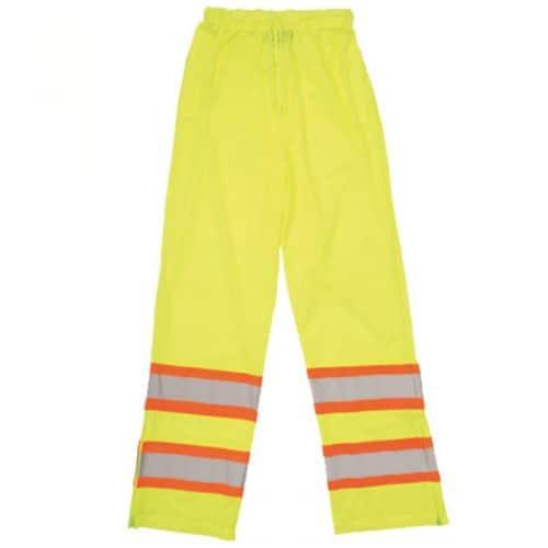 ERB Safety Green Rain Pants