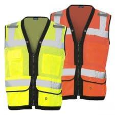 ERB Surveyors Vest With Tablet Pocket