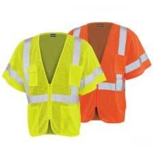 ERB Class 3 Mesh Zipper Safety Vest