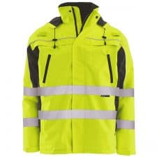 ERB Class 3 Ripstop Safety Zipper Jacket With Removable Inner Vest