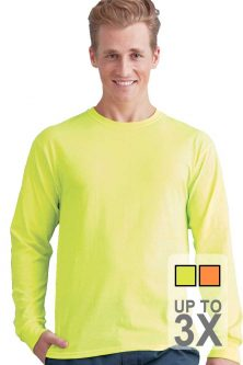 Long Sleeve Safety T-Shirts