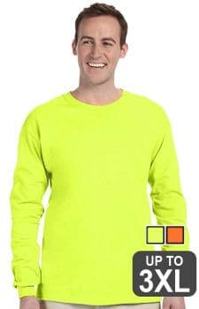 Fruit Of The Loom Long Sleeve Safety Shirt