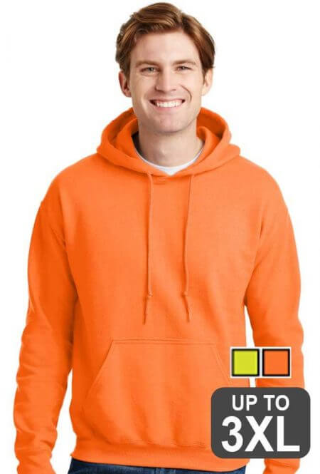Gildan UltraBlend Hooded Safety Sweatshirt