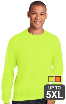 Gildan Safety Heavy Blend Crewneck Sweatshirt