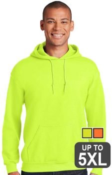 Gildan Heavy Blend Hooded Safety Sweatshirt