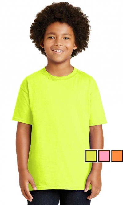 Gildan Ultra Cotton Youth Safety T-Shirt