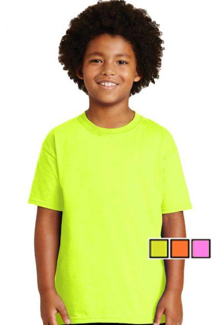 Gildan Ultra Cotton Youth Safety T-Shirt