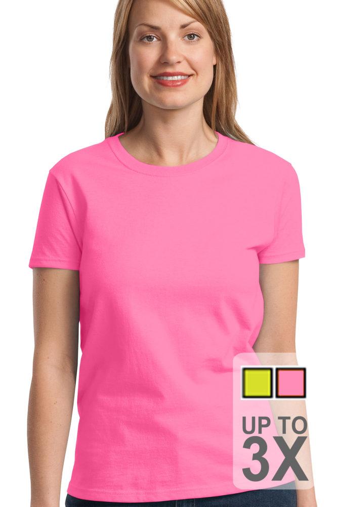 Gildan Ladies Safety Ultra Cotton T-Shirt