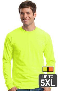 Gildan Long Sleeve Safety Shirt