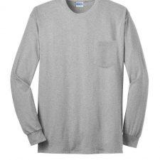 Clearance – Gildan 2410 Long Sleeve Pocket Shirt – XL Only