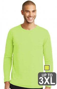 Gildan Performance Long Sleeve Safety T-Shirt