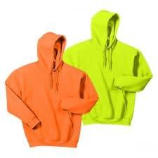 Gildan Heavy Blend Hooded Safety Sweatshirt