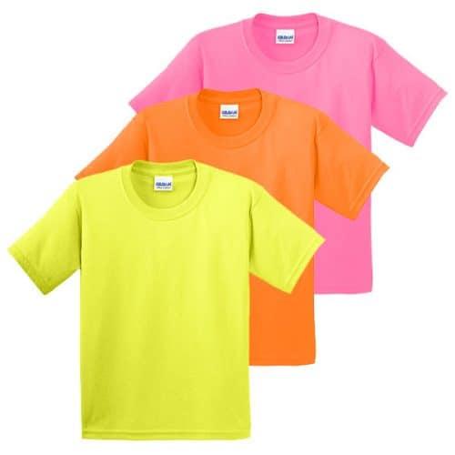 Gildan Youth Safety Shirts