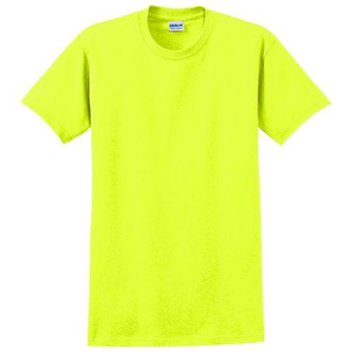 Gildan Dry Fit Safety Green Shirt