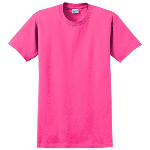 Gildan Safety Pink Dry Fit Safety Shirt