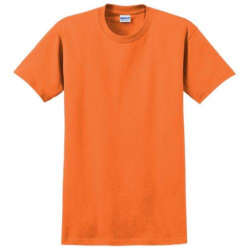 Gildan Safety Orange Tee